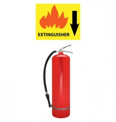 extinguisher vector image vector image