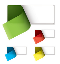 label peel variation vector image