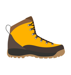 enduring leather boot vector image