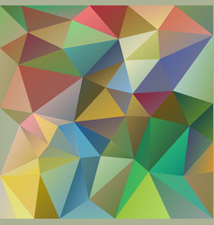 Abstract irregular polygonal hologram background vector