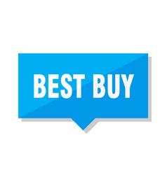 Best buy price tag vector