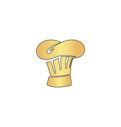 Chef cap computer symbol vector