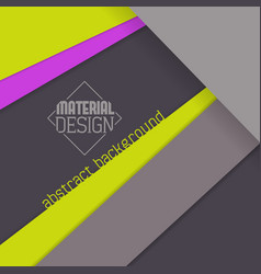 material design wallpaper vector image