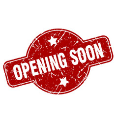 Opening soon vector