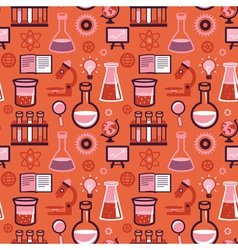 seamless pattern in flat style vector image