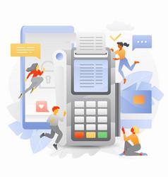 Secure online transaction vector