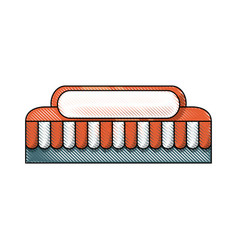 store tent icon vector image vector image