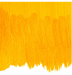 yellow painted background vector image