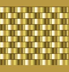 gold gradient pattern vector image vector image