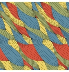 Seamless texture for fabric vector image vector image