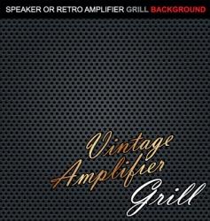 speaker grill background vector image