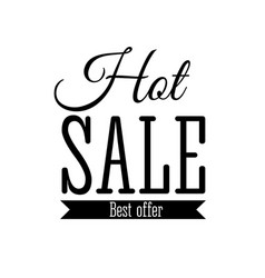 hot sale label sticker banner symbol vector image