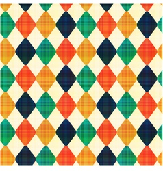 seamless abstract geometric rhombus pattern vector image
