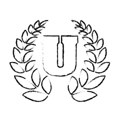 university emblem icon image vector image