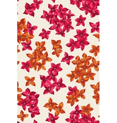 Seamless pattern with colorful tiny flowers vector image vector image