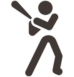 Baseballl icon vector