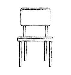 Chair furniture decoration seat image sketch vector