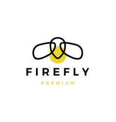 Firefly logo icon vector
