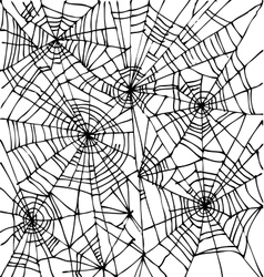 Halloween web background CCCI-Wt vector image