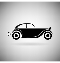 icon car vector image