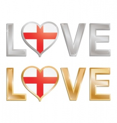 love England vector image