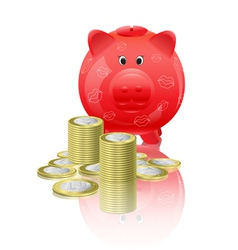 Piggy moneybox vector