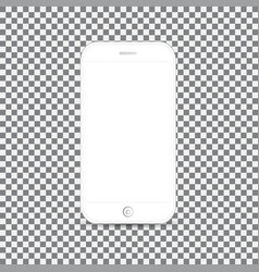 smart phone drawing isolated transparent vector image