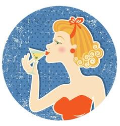 drink martini vector image