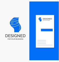 business logo for belt safety pregnancy pregnant vector image