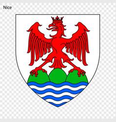 Emblem of nice vector