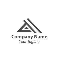 Latter logo design letter a logo an icon vector