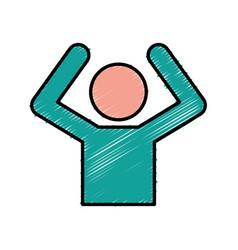 Man figure icon vector