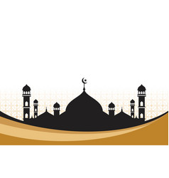 Moslem background vector