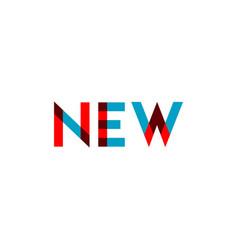 New template design vector