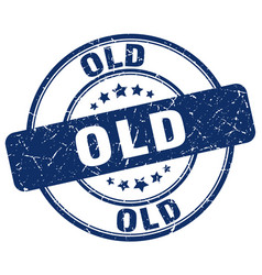 Old stamp vector
