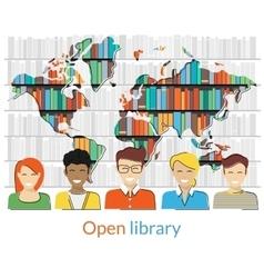 Open library vector