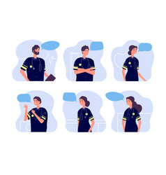 paramedic medical team first aid staff doctor vector image