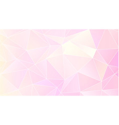 pastel bright pink low poly backdrop design vector image
