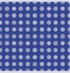 snowflake season nature winter snow symbol frozen vector image