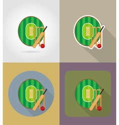 sport flat icons 71 vector image