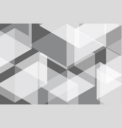 white grey geomatric abstract background vector image vector image