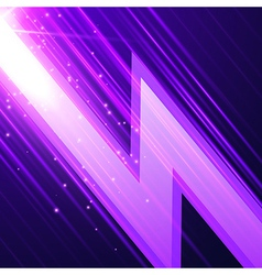 Abstract glowint background vector image