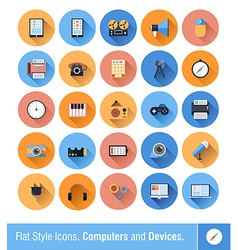 Device Icons vector image vector image