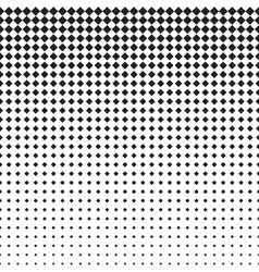 Rhomb Halftone Pattern vector image