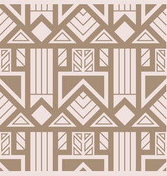 Abstract art deco geometric pattern 01 vector
