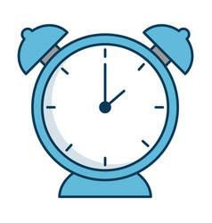alarm clock isolated icon vector image