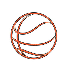 Basketball ball game vector