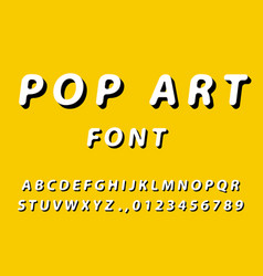 Bright colorful english alphabet made in the vector