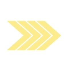 Right modern arrow icon vector