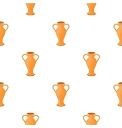 Amphora icon in cartoon style isolated on white vector image vector image